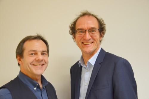 Norbert Kugler und Benno Driendl